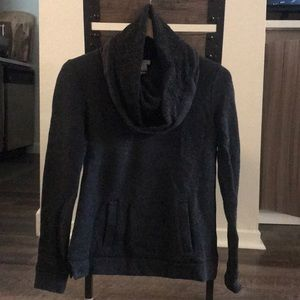 J.Crew Turtle Neck Sweater- Dark Gray Petite